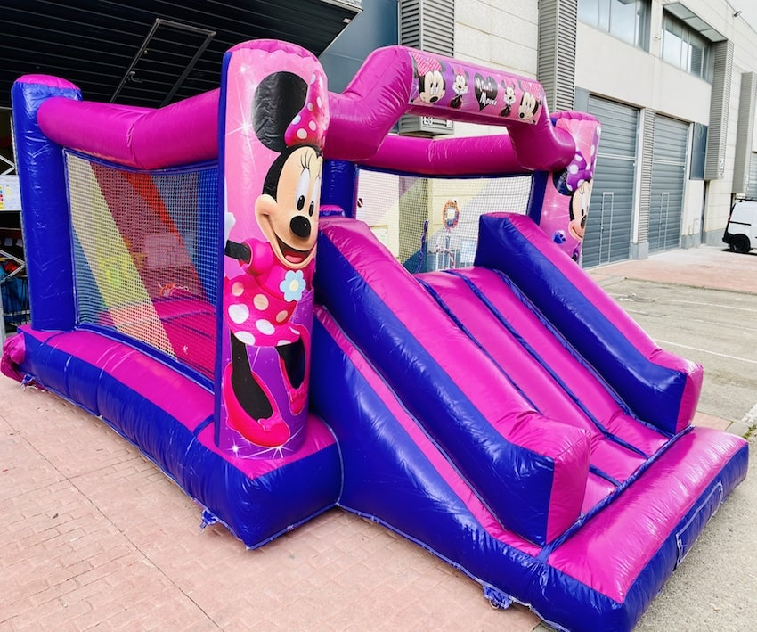 ALQUILER CASTILLO HINCHABLE MINNIE MOUSE
